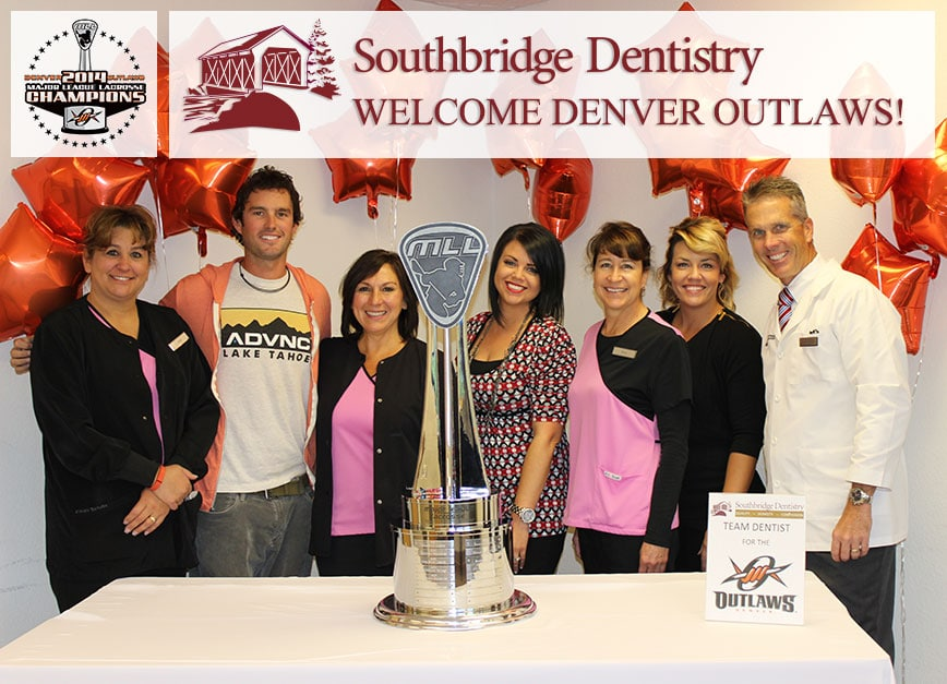 Denver Outlaws and Southbridge Dentistry
