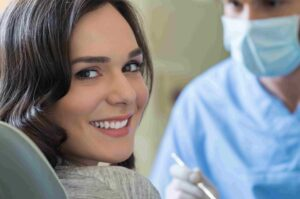 teeth cleaning at Southbridge Dentistry
